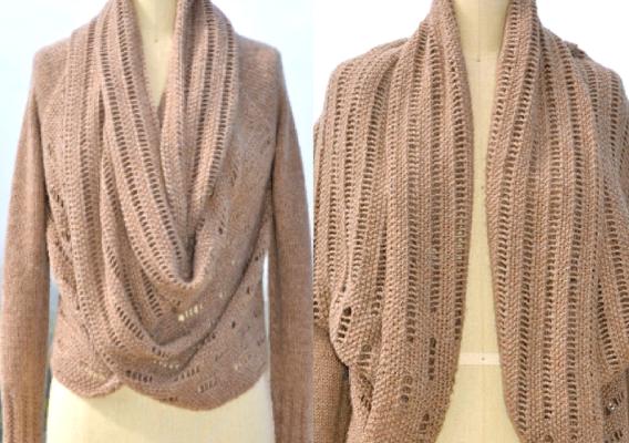 Setsuko Cardigan Knitting Pattern Japan Style Feature Image
