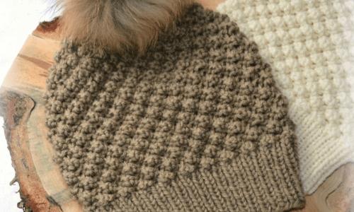 bobble hat knitting pattern