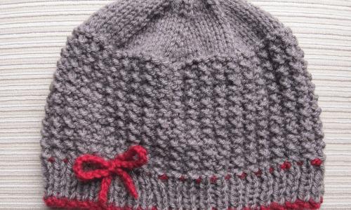 rice stitch knitting