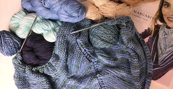 calculate how many yards in a skein of yarn
