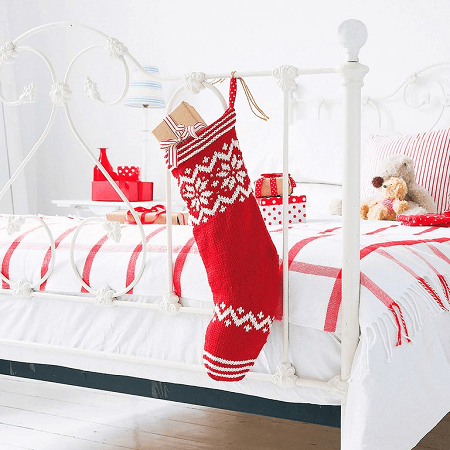 How To Knit Christmas Stockings by Prima