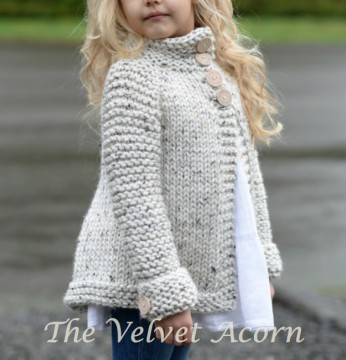 Adorable Brink Sweater Knitting Pattern