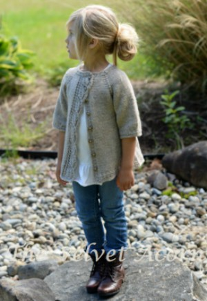 Adorable Cove Cardigan Knitting Pattern