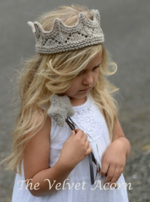 Adorable Princess Crown Knitting Pattern