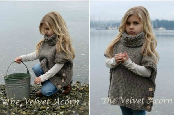 Azel Pullover Knitting Pattern Feature Image