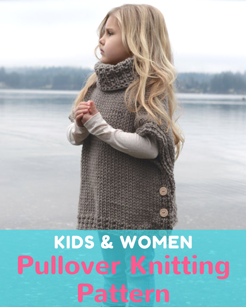 Azel Pullover Knitting Pattern