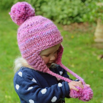 Beanie With Ear Flaps Womens Knitting Pattern