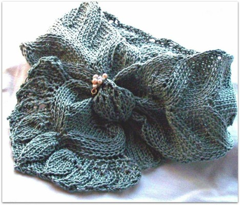 Easy Summer Scarf Knitting Pattern Tutorial