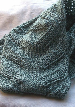 Easy Summer Scarf Knitting Pattern