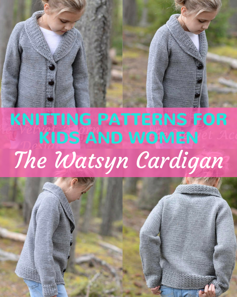 Baby To Adult Easy Knit Ladies Cardigan Patterns - Knitting News