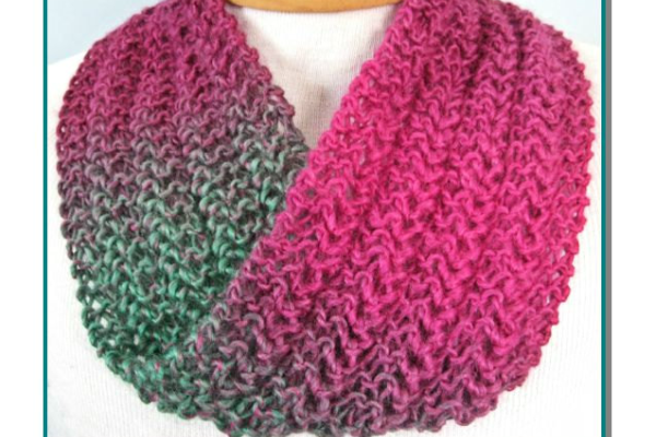 Infinity Scarf Knitting Patterns For Beginners