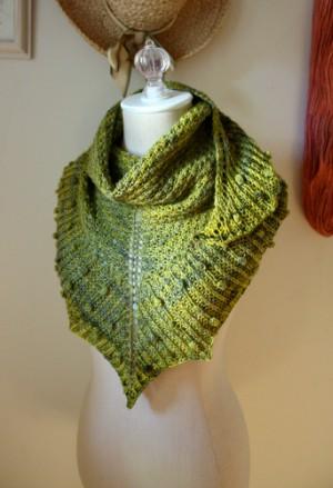 Intermediate Knitting Pattern For Shawlette