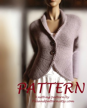Blazer Knitting Pattern