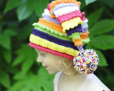 Knit Stocking Hat Pattern 6 Sizes