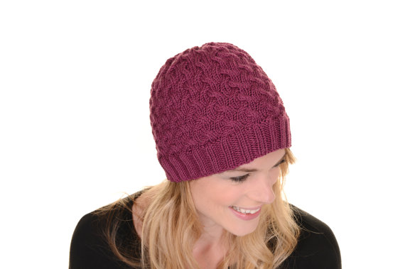 Knitted Winter Hat Pattern For Adults