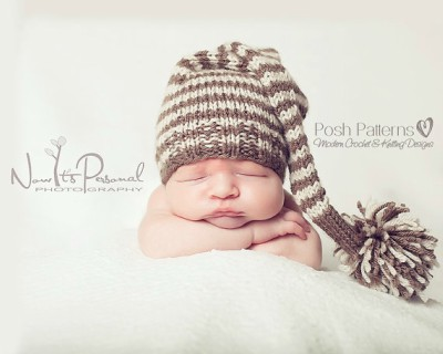 Knitting Pattern Baby Pom Pom Hat