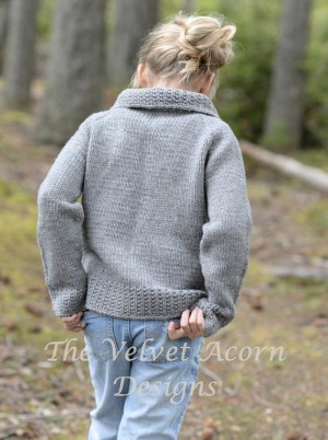 Ladies Cardigan Knitting Pattern