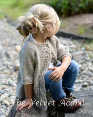 Short Sleeve Cardigan Knitting Pattern