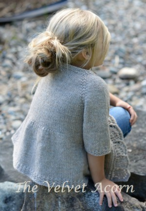 Simple Knitted Cardigan Pattern