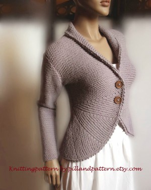 Stylish Blazer Knitting Pattern