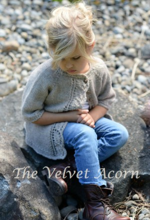 Short Sleeve Cove Cardigan Knitting Pattern