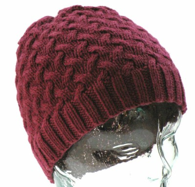 Winter Hat For Adults Knitting Pattern