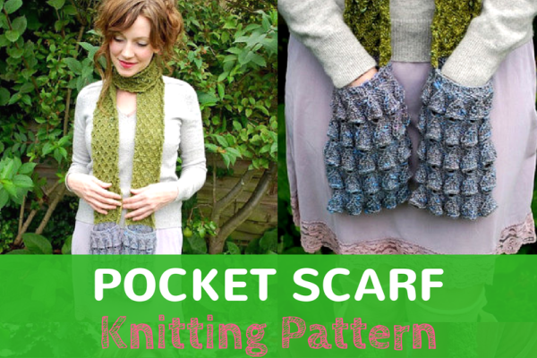 Womens Pocket Scarf Pattern Yes A Scarf With Pockets Knitting News