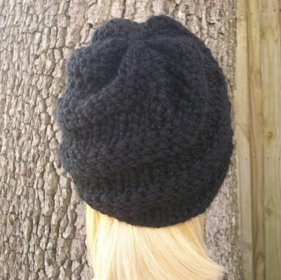 Knitting Pattern For Visor Beanie