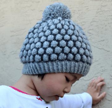 Knitting Bobble Stitch Written Tutorial