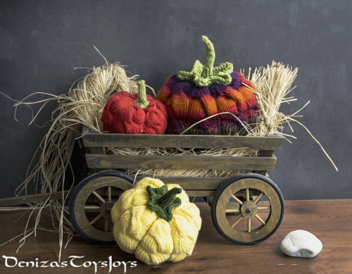 pumpkin knitting pattern
