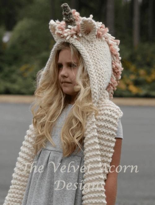 unicorn knitting pattern