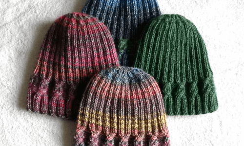 beanie knitting pattern