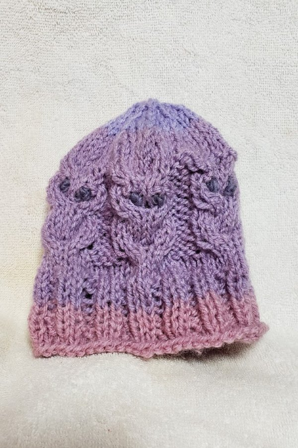 free magic loop baby hat knit pattern