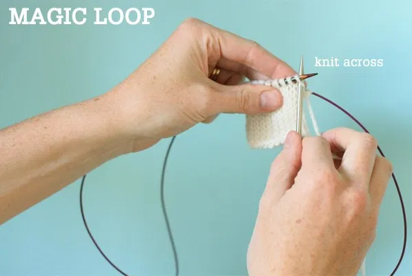 magic loop knitting