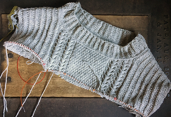 frogging knitting mistakes