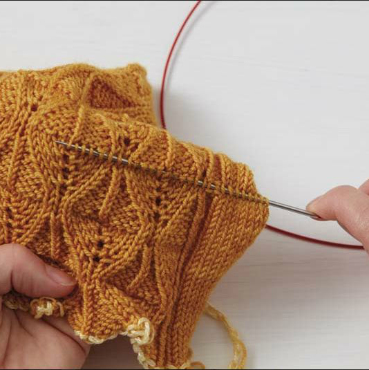 how to frogging knitting