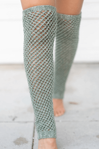Keep Me Warm Leg Warmers Knitting Pattern by See Love Share