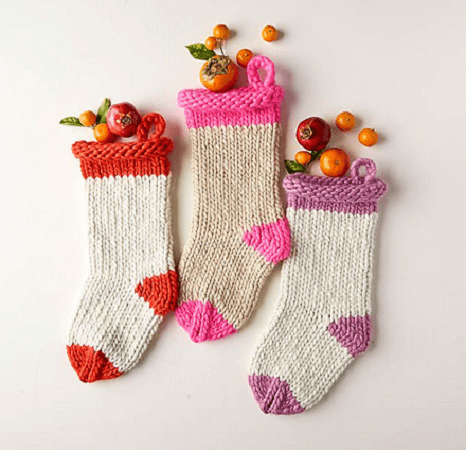 Knit Before Christmas Stocking Pattern by Purl Soho