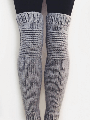 Knit Leg Warmers Pattern by Two Of Wands Shop