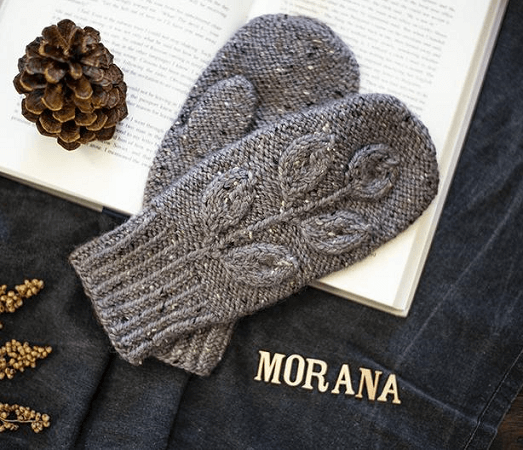 Morana Mittens Knitting Pattern by Irmian Design