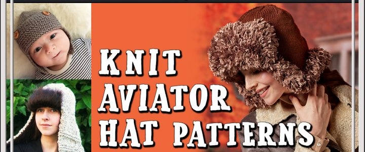 Knit Aviator Hat Patterns
