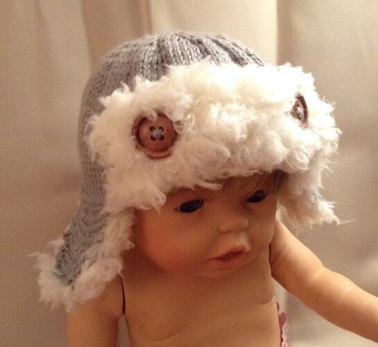 Baby Aviator Hat Knitting Pattern by Hoper55