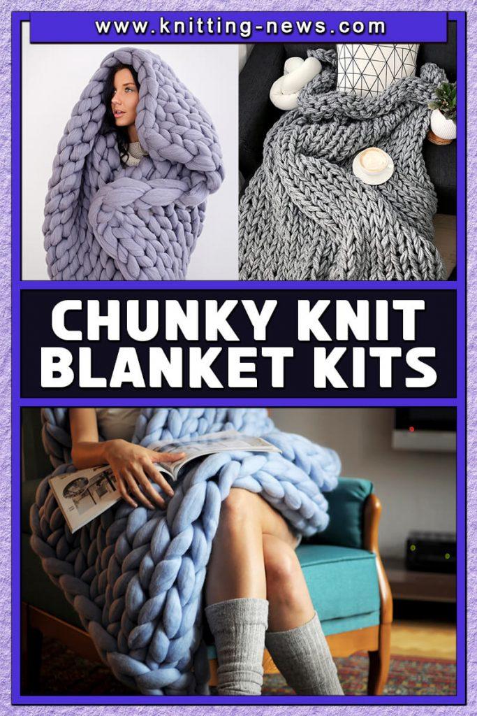 Chunky Knit Blanket Kits
