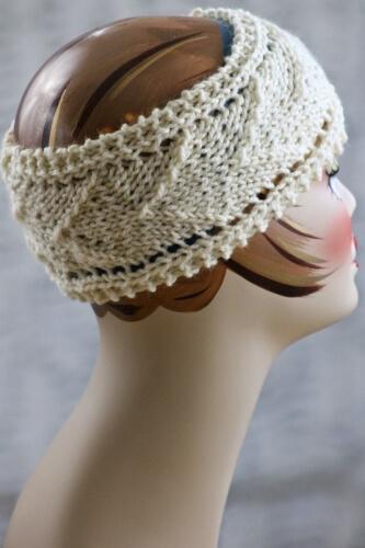 Arrow Design Knit Headband by Gretchen Tracy