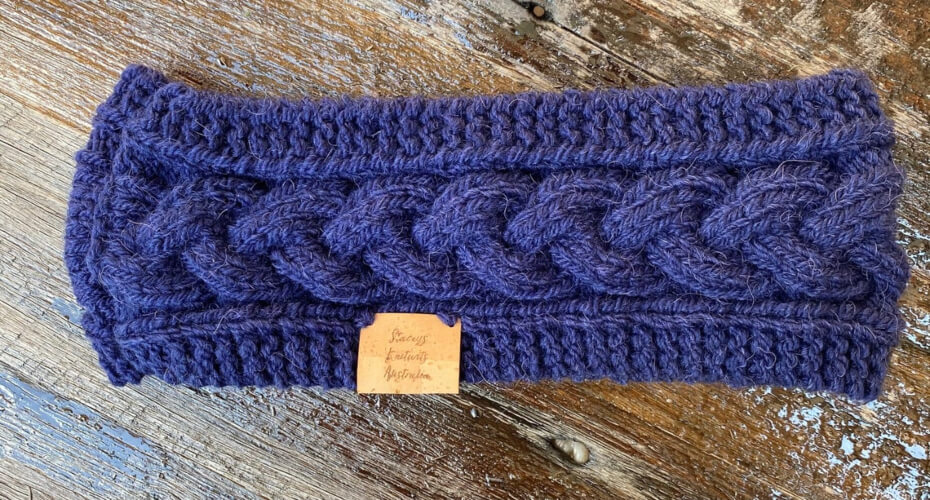 Cable Headband Knitting Pattern by StaceysKnitWits