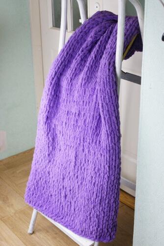 Chunky Blanket Kit from WonderfulCraftKits