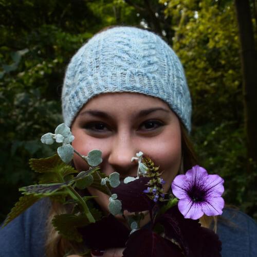 Maddie Headband Knit Pattern by freesiafibers