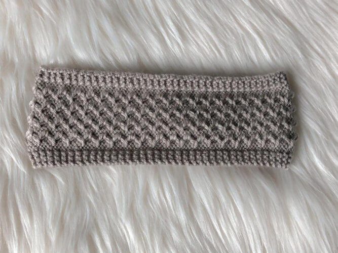 The Belle Isle Knit Headband Pattern by RosyBirchDesigns