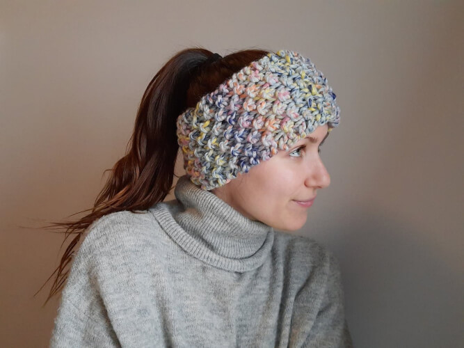 The Missy Knitted Headband Pattern by ByRosyStitches