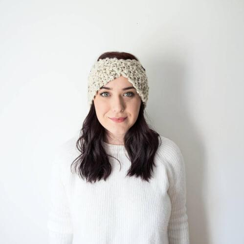 Twisted Chunky Knit Headband by EndearingKnits